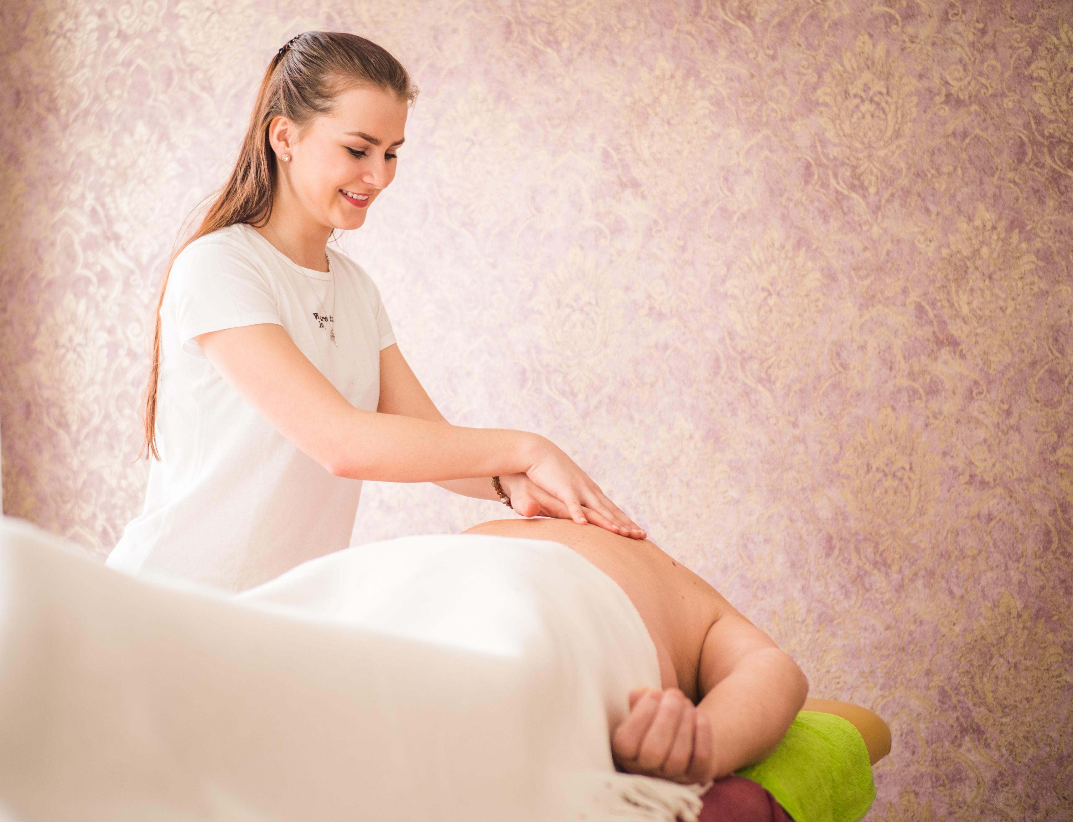 Aromatická masáž